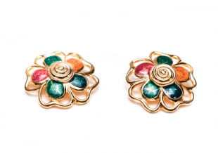 PENDIENTES FLOWERS MULTICOLOR